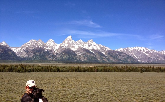 The glorious Grand Tetons.